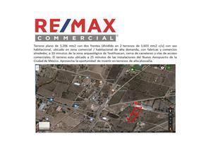 Foto de terreno comercial en venta en camino a los chopos , san francisco mazapa, teotihuacán, méxico, 5435428 No. 01