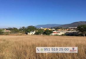 Foto de terreno habitacional en venta en camino al mezquite , san francisco lachigolo, san francisco lachigoló, oaxaca, 10250643 No. 01