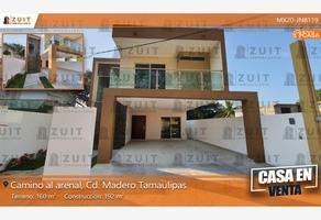 Foto de casa en venta en camino del arenal 203, jacarandas, ciudad madero, tamaulipas, 17695119 No. 01