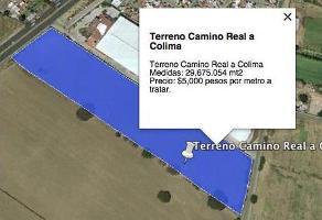 Foto de terreno industrial en venta en camino real a colima , geovillas del real, san pedro tlaquepaque, jalisco, 0 No. 01