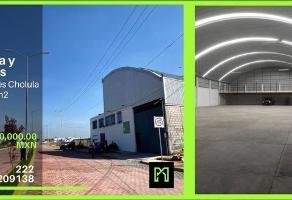 Foto de nave industrial en venta en camino real san andres cholula , san bernardino tlaxcalancingo, san andrés cholula, puebla, 0 No. 01