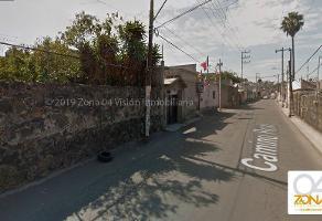 Foto de terreno habitacional en venta en camino real , san juan, tláhuac, df / cdmx, 8901485 No. 01