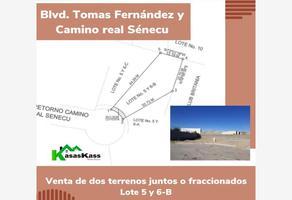 Foto de terreno habitacional en venta en camino real senecu , campestre senecu, juárez, chihuahua, 12379996 No. 01