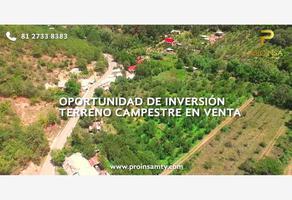Foto de rancho en venta en camino san isidro 1, san andres, santiago, nuevo león, 0 No. 01