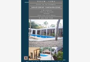 Foto de casa en venta en camino turístico , tulum centro, tulum, quintana roo, 12306523 No. 01