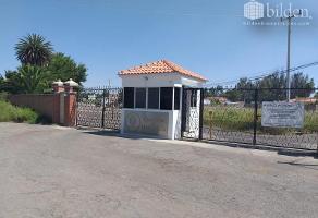 Foto de terreno habitacional en venta en  , campestre martinica, durango, durango, 11109072 No. 01