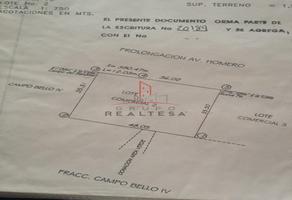 Foto de terreno habitacional en venta en  , campo bello etapa i, ii, iii, iv, v y vi, chihuahua, chihuahua, 18793877 No. 01