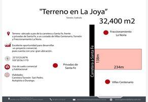Foto de terreno comercial en venta en  , noria cuatro (la joya), torreón, coahuila de zaragoza, 20185461 No. 01
