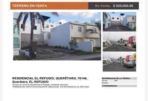 Foto de terreno habitacional en venta en campo real 250, residencial el refugio, querétaro, querétaro, 0 No. 01