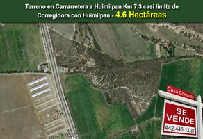 Foto de terreno habitacional en venta en cañadas del lago , cañadas del lago, corregidora, querétaro, 0 No. 01