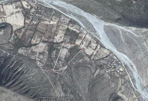 Foto de terreno habitacional en venta en cañon de la huasteca , la huasteca 3, santa catarina, nuevo león, 8760820 No. 01