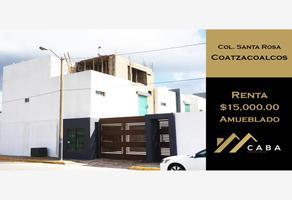 Foto de casa en renta en carlos talavera , santa rosa, coatzacoalcos, veracruz de ignacio de la llave, 12574603 No. 01