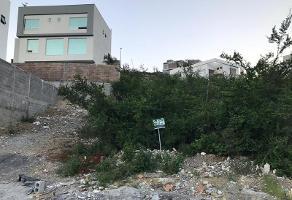 Foto de terreno habitacional en venta en  , carolco, monterrey, nuevo león, 14984222 No. 01