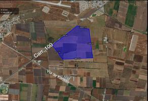 Foto de terreno industrial en venta en carretera 100 , adolfo lopez mateos, tequisquiapan, querétaro, 7509238 No. 01