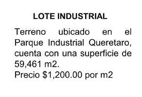 Foto de terreno industrial en venta en carretera 57 kilometro 1, industrial, querétaro, querétaro, 4424887 No. 01