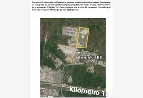 Foto de terreno industrial en venta en carretera a bahia libre , del norte, veracruz, veracruz de ignacio de la llave, 17367223 No. 01