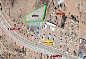 Foto de terreno comercial en venta en carretera a mazatlan , 15 de mayo (tapias), durango, durango, 8187720 No. 01
