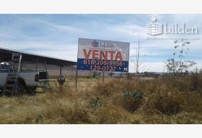 Foto de terreno habitacional en venta en carretera a méxico 100, 20 de noviembre, durango, durango, 0 No. 01