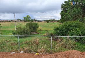 Foto de terreno habitacional en renta en carretera a méxico 100, campestre de durango, durango, durango, 21221975 No. 01