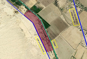 Foto de terreno habitacional en venta en carretera a san felipe kilometro 17 , las palmas, mexicali, baja california, 18454916 No. 01