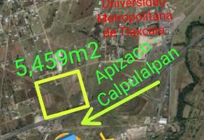 Foto de terreno industrial en venta en carretera apizaco - tlaxcala , santa anita huiloac, apizaco, tlaxcala, 11075889 No. 01