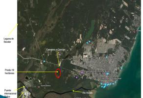 Foto de terreno industrial en venta en carretera chetumal-bacalar 0, playa del carmen centro, solidaridad, quintana roo, 15647284 No. 01