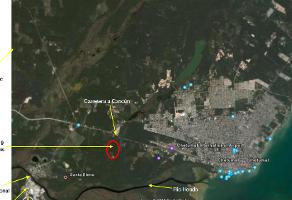 Foto de terreno industrial en venta en carretera chetumal-bacalar 20, playa del carmen centro, solidaridad, quintana roo, 15647284 No. 01