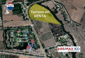 Foto de terreno habitacional en venta en carretera emiliano zapata - jesús maría , valladolid, jesús maría, aguascalientes, 13936613 No. 01