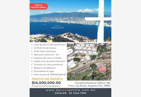 Foto de terreno comercial en venta en carretera escénica 5256, club residencial las brisas, acapulco de juárez, guerrero, 0 No. 01
