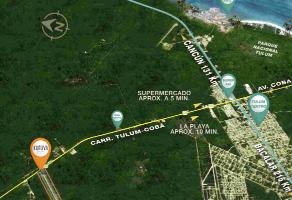 Foto de terreno comercial en venta en carretera estatal tulúm-cobá , tulum centro, tulum, quintana roo, 8760263 No. 01