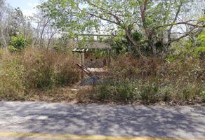 Foto de terreno habitacional en venta en carretera federal cancún valladolid , fraccionamiento galaxia altamar, benito juárez, quintana roo, 0 No. 01
