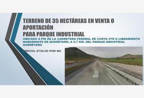 Foto de terreno comercial en venta en carretera federal de cuota 57d , industrial, querétaro, querétaro, 0 No. 01