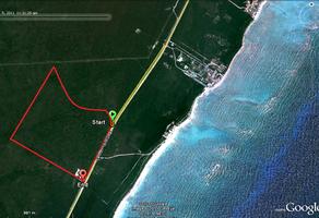 Foto de terreno industrial en venta en carretera federal tulum - playa del carmen , tulum centro, tulum, quintana roo, 8122757 No. 01