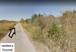 Foto de terreno habitacional en venta en carretera hunucma texan , huncanab, hunucmá, yucatán, 0 No. 01