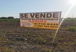 Foto de terreno habitacional en venta en carretera internacional norte , la rioja, culiacán, sinaloa, 0 No. 01