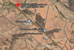 Foto de terreno comercial en venta en carretera libre mazatlan-culiacan, el habal , marina real, mazatlán, sinaloa, 0 No. 01