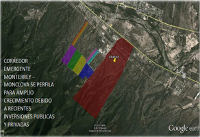 Foto de terreno industrial en venta en carretera monterrey-monclova kilometro 37 , abasolo centro, abasolo, nuevo león, 15335222 No. 01