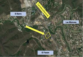 Foto de terreno comercial en renta en carretera nacional , el cerrito, santiago, nuevo león, 0 No. 01