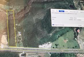 Foto de terreno habitacional en venta en carretera nacional , valle de los álamos, allende, nuevo león, 17460599 No. 01
