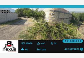 Foto de terreno habitacional en venta en carretera pie de gallo 200, cerro de la cruz, querétaro, querétaro, 0 No. 01