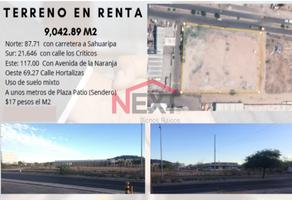 Foto de terreno habitacional en renta en carretera sahuaripa 0, las lomas, hermosillo, sonora, 18737839 No. 01