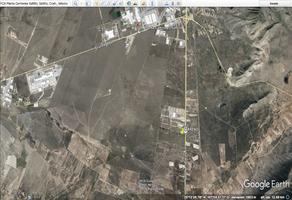 Foto de terreno habitacional en venta en carretera saltillo a zacatecas 325 , agua nueva, saltillo, coahuila de zaragoza, 19353535 No. 01