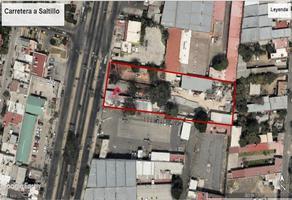 Foto de terreno habitacional en venta en carretera saltillo , benito juárez, zapopan, jalisco, 0 No. 01