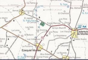 Foto de terreno habitacional en venta en carretera tunas blancas ezequiel montes kilometro 33.5, 76685, qro., méxico , tunas blancas, ezequiel montes, querétaro, 0 No. 01