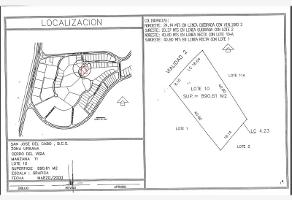 Foto de terreno habitacional en venta en carro del vigia , san josé del cabo centro, los cabos, baja california sur, 0 No. 01