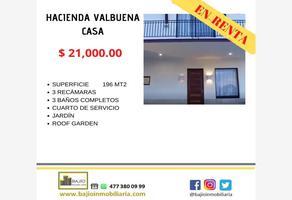 Foto de casa en renta en casa en renta modelo roble, la hacienda, león, guanajuato, 19221072 No. 01