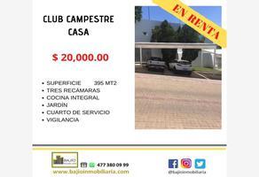 Foto de casa en renta en casa en renta. zona dorada de leon ., club campestre, león, guanajuato, 15697694 No. 01