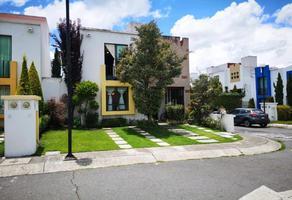 Foto de casa en venta en casa en venta con terreno excedente en residencial bosques de ica zinacantepec 1, bosques residencial, zinacantepec, méxico, 0 No. 01