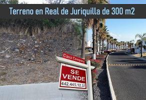 Foto de terreno habitacional en venta en cascada de naolinco , real de juriquilla (diamante), querétaro, querétaro, 15147017 No. 01