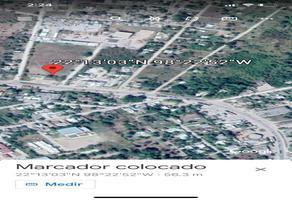 Foto de terreno habitacional en venta en cd. valles - tampico , 20 de noviembre, ebano, san luis potosí, 18381555 No. 01